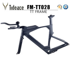 Aero Carbon Fiber Time Trial Bike Frames+TT handlebars T800 Carbon Bike Frames