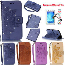 Fashion Flip PU Leather Wallet Stand Cover Skin For Samsung Galaxy Cell Phones