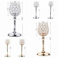Crystal Votive Candle Holder Home Banquet Candlestick For Wedding Party Deco