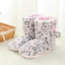 Kids Plush Slippers Children Home Girls Warm Soft Fluffy Fur Shoes Skidproof New