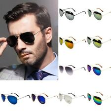 Unisex Women Men Vintage Retro Aviator Sunglasses Glasses Eyewear Driving Party