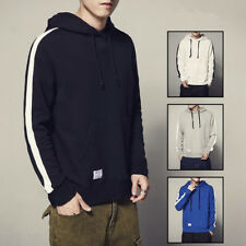 Fashion Mens Hoodies Sweats Size M-5XL Simple Loose Casual Pocket Tops New