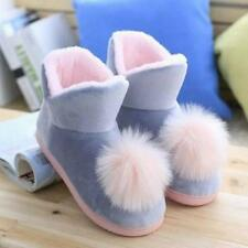 Plush Home Slippper Warm Floor Boots Children Skidproof Comfortable Cotton Shoes
