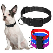 Nylon Small Dog Collar Plain Puppy Pet Cat Collar for Small Medium Dog Chihuahua