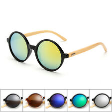 Unisex Anti-Radiation PC Lens Man Eyeglass Bamboo Foot Frame Women's SunGlasses