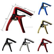 Quick Change Tune Clamp Key Trigger Capo For Acoustic Electric Guitar US
