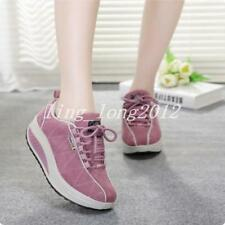 New Womens Walking Sports shoes Lace up Shape Ups Sneaker Running Hot shoes