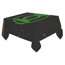 Hot Selling Custom Green Lantern Table Cover Cloth Cotton Linen Tablecloth