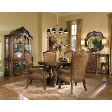 AICO Furniture   Windsor Court 5 Piece Round Dining Table Set In Vintage  Fruitwo