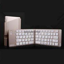 Portable Foldable Folding Wireless Bluetooth Keyboard for iPhone PC Tablet