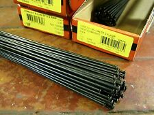 DT SWISS COMPETITION Spokes Black 2.0/1.8mm STRAIGHT-PULL *Any Size**Any Qty*NEW