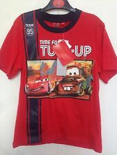 BNWT Disney - Cars Boys Pyjamas/Sleepware. T-Shirt & Shorts. Age 3-8 Years
