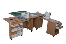 Sewing Machine Cabinet Table Comfort 4. Overlock Desk Quilting