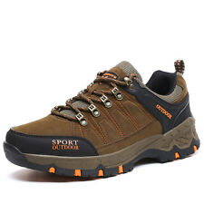 Mens Hiking Shoes Sports Trail Sneakers Climbing Mountain Shoes BIG SIZE 10.5