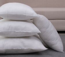 """Set of 2 Hollowfibre Square Cushion Pad Inner Insert Fillers All Sizes 12"""" - 30"""""""