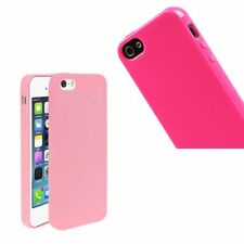 Soft Silicone Gel Rubber Ultra Slim Jelly Case Cover Skin For Apple iPhone 5S SE