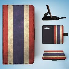 THAILAND COUNTRY FLAG  FLIP WALLET CASE COVER FOR SAMSUNG GALAXY J3(2016)