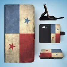 PANAMA COUNTRY FLAG  FLIP WALLET CASE COVER FOR SAMSUNG GALAXY J5(2016)