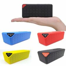 Portable Shockproof Wireless Bluetooth AUX Stereo Speaker For Smartphone Tablet