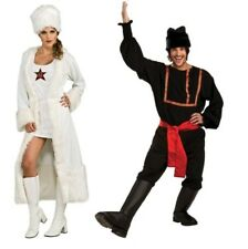 Black Russian Male Or White Russian Sexy Female Adult Costume by Rubies New