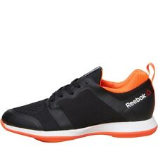 NEW Reebok Womens Easytone 2.0 ATH Stylite Trainers Black/Electric Peach