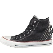 NEW Converse Womens CT All Star Hi Triple Zip Trainers Black/White