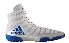 ADIDAS adizero VARNER 2 Wrestling Shoes MMA Boxing Gray Royal Blue White BA8021