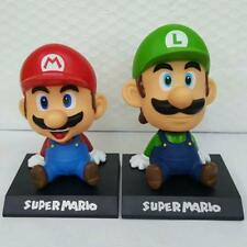 5' 14cm Super Mario Luigi Collection Model PVC Action Figures Toy Bobble...