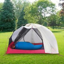 Ultralight Double Layer 4 Seasons Camping Tent Waterproof Backpacking Tent N3N8