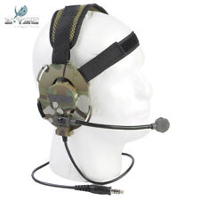 Dual Headset Tactical Z Bowman Evo III Dual Side Configuration Adapter Style New