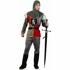 Men's Noble Adult Costume Dark Knight Fancy Medieval Party OneSize Dress Night