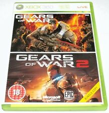 Gears of War 1 and 2 Double Pack for Xbox 360 – UK Preowned – FAST DISPATCH