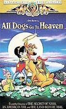 All Dogs Go to Heaven (VHS, 2000, Clam Shell Family Entertainment)