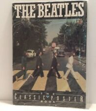 Vintage THE BEATLES THE CLASSIC POSTER BOOK Mallard Press COLLECTIBLE!