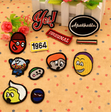 Iron On Embroidered Appliques Sew Motif Craft Kids Choice Cartoon Fabric Patches