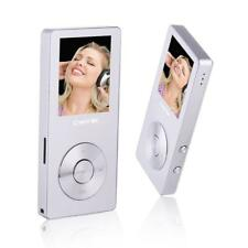 HiFi Metal MP4 Player Built-in Speaker 8GB Play 80 hrs with Video Alarm FM Radio