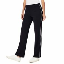 Maine New England Womens Black Piped Jogging Bottoms From Debenhams