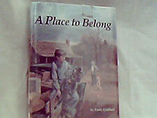 A Place to Belong by Emily Crofford with Dust Jacket FRE SHIPPING
