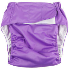 Reuseable Washable Adult Cloth Diaper Pad for Bed Wetting Incontinence Panty