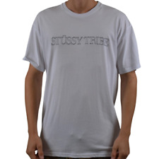 Stussy Cover Short Sleeve Tee Shirt Top True White