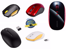 2.4G Wireless Portable Mobile Mouse Optical Mice Laptop PC Computer USB Receiver