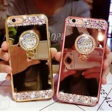 Phone Case For Sumsung Note 8 Note8 S8 S7 Mirror Bling Diamond Rhinestone Ring