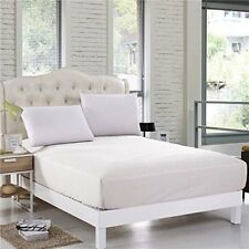 Sheet Set 400 Thread Count Egyptian Cotton 12Inch Deep Choose Solid Color & Size
