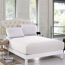 Sheet Set 400 Thread Count Egyptian Cotton 10Inch Deep Choose Solid Color & Size