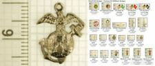Military & Peacekeeping decorative fobs, various designs & keychain options