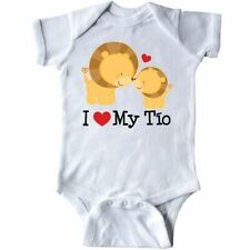 Inktastic I Love My Tio Uncle Gift For Nephew Infant Creeper Heart Baby Niece