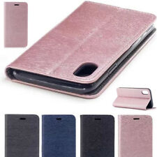 Luxury Ultra-Thin PU Leather Flip Wallet Magnetic Stand Case Cover For iPhone