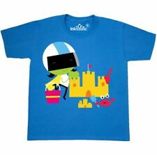 Inktastic Dee And Crab Happy Building Sandcastle Youth T-Shirt Pbs Kids Summer
