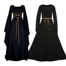 UK Medieval Victorian Renaissance Gothic Wedding Dress Vampire Cosplay Costume