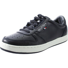 Tommy Hilfiger Hoxton Jr 1A Midnight Leather Youth Sneakers Shoes